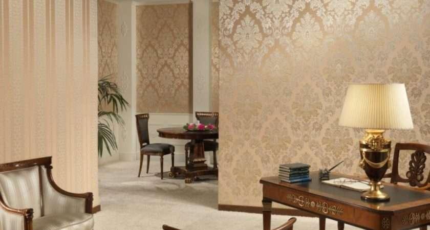 Gold Color Living Room Olpos Design