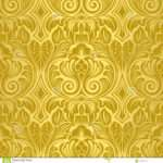Gold Seamless Vector Illustration