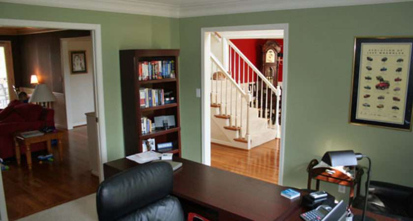 Good Home Office Paint Colors Excellent Small