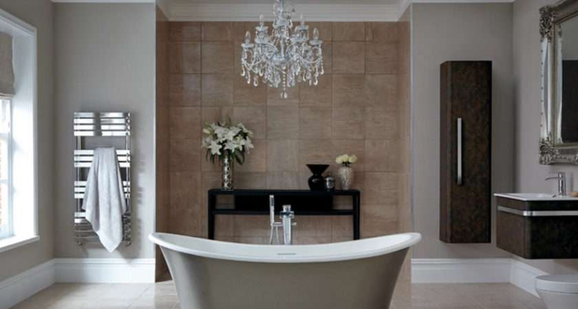 Gorgeous Bathroom Crystal Chandeliers Home Design Lover