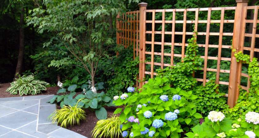 Gorgeous Fence Toppers Landscape Traditional Wire Trellis Next