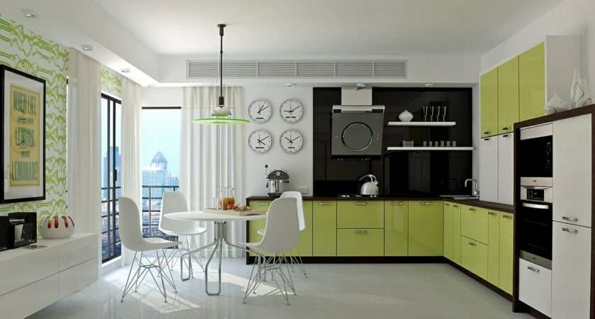 Gorgeous Green Kitchens Ways Accessorize Them