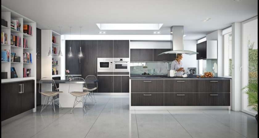 Gorgeous Open Modern Kitchen