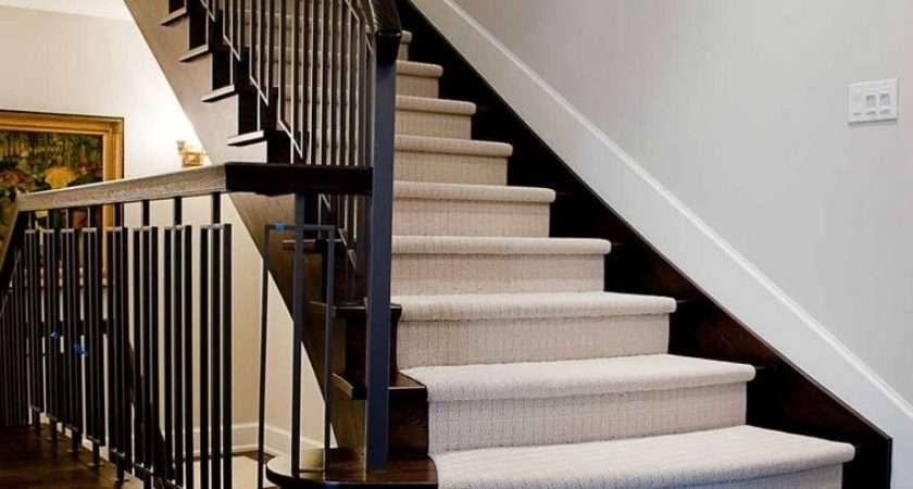 Gorgeous Stair Design Small House Modern Carpet