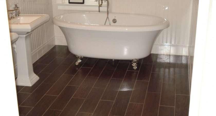 Gorgeous Wood Look Tile Floors Inspiring Bathroom Flooring