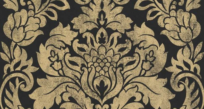 Graham Brown Artisan Black Gold Gloriana Metallic