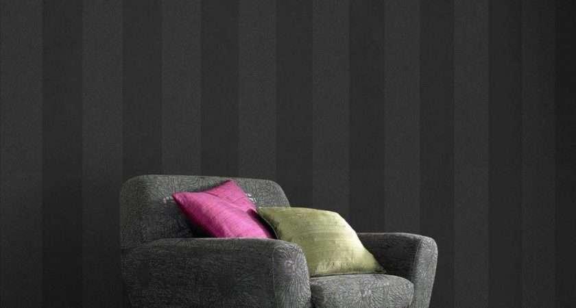 Graham Brown Glitter Artisan Stripe Removable