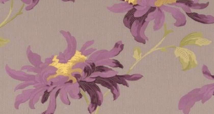 Graham Brown Luxury Vinyl Fabulous Floral Flower