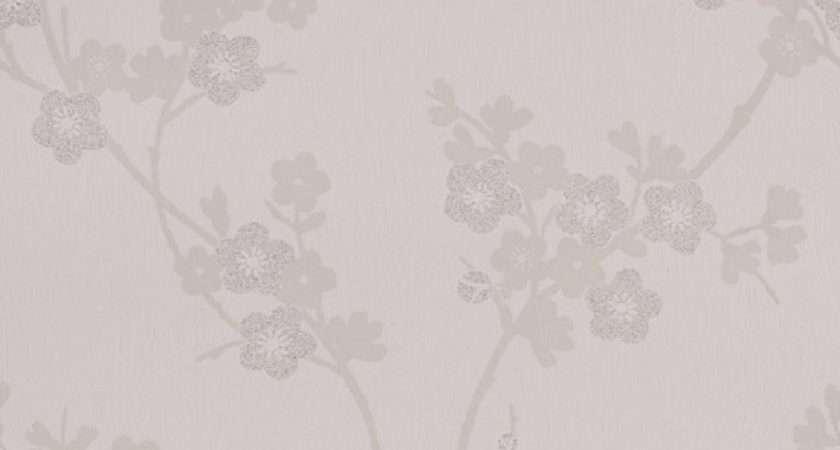 Graham Brown Superfresco Cherry Blossom Glitter Textured