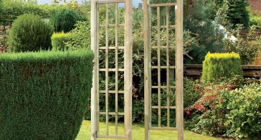 Grange Bow Pressure Treated Top Wooden Garden Arch