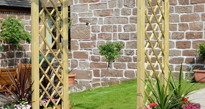 Grange Elite Portico Pressure Treated Wooden Garden Arch