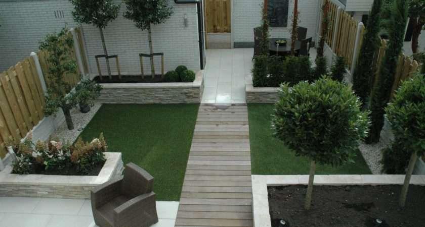 Grass Backyard Small Garden Ideas Uksmall Uktools