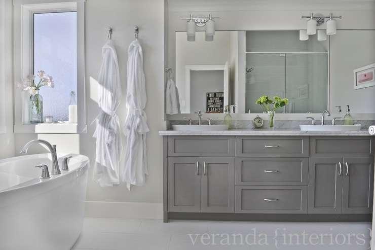 Gray Bathroom Cabinets Design Decor Photos Ideas