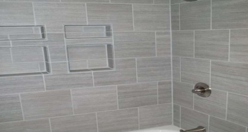 Gray Bathroom Tile Home Depot