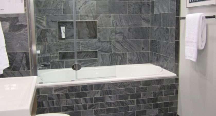 Gray Bathroom Wall Tile Ideas