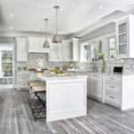 Gray Kitchen Floors Transitional Vita Design