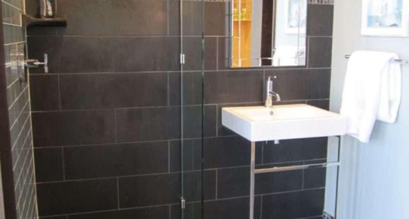 Gray Shower Tile Ideas