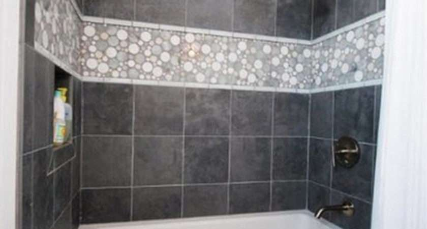 Gray Slate Bathroom Tile Ideas