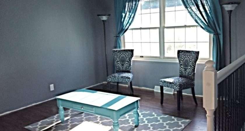 Gray Teal Living Room Pinterest