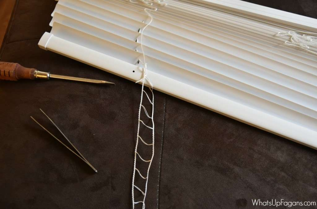 Great Diy Tutorial Mini Blind Repair Fix Blinds Kids