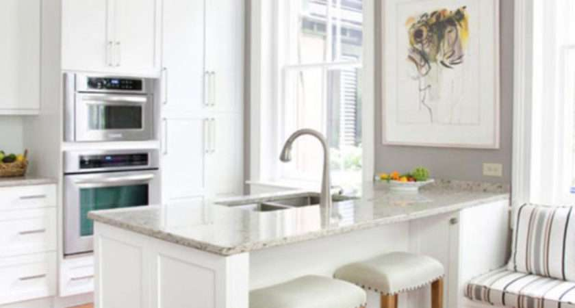 Great Furniture Solution Breakfast Bar Small Kitchen