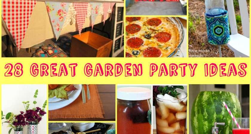 Great Garden Party Ideas