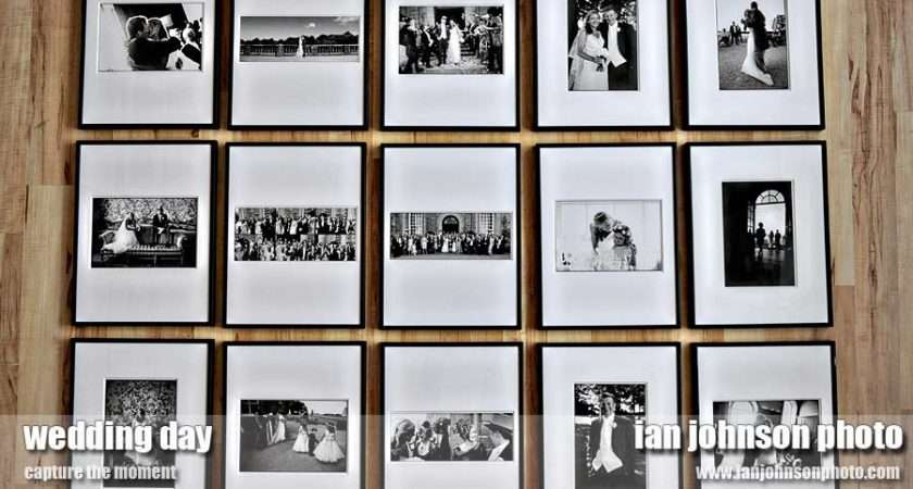 Great Idea Wedding Wall Display Your Photos