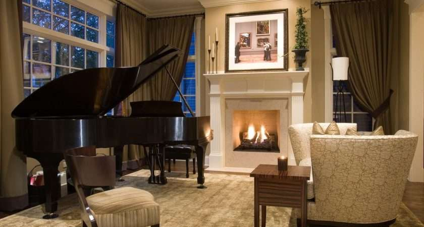 Great Ideas Putting Grand Piano Living Room