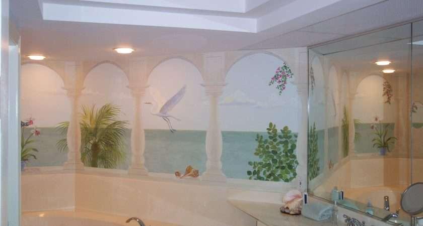 Great Mosaic Tile Murals Bathroom Ideas