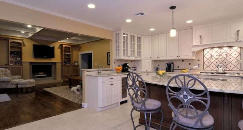 Great Room Design Ideas Kitchen Renovation Sands Point