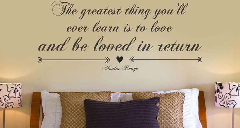 Greatest Thing Quote Vinyl Sticker Contemporary Wall Stickers