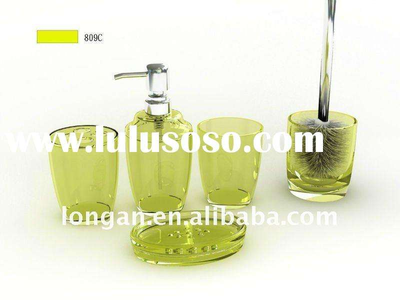 Green Bathroom Accessories Sets