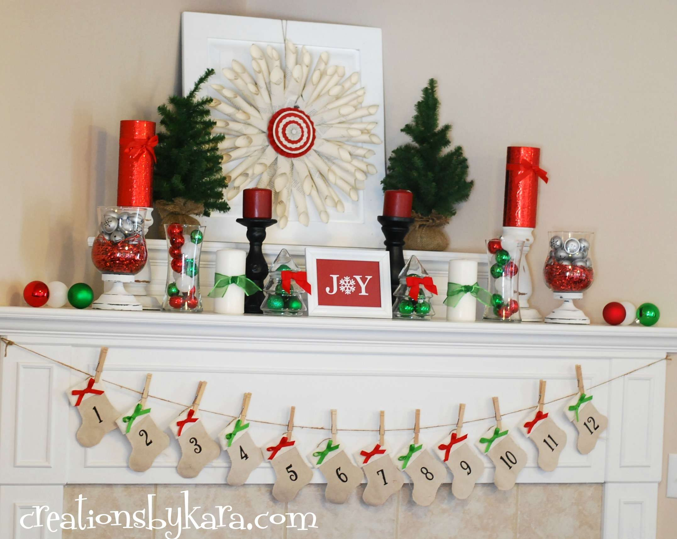 Green Christmas Mantel Fall Decorating Ideas Entryway Table Decor