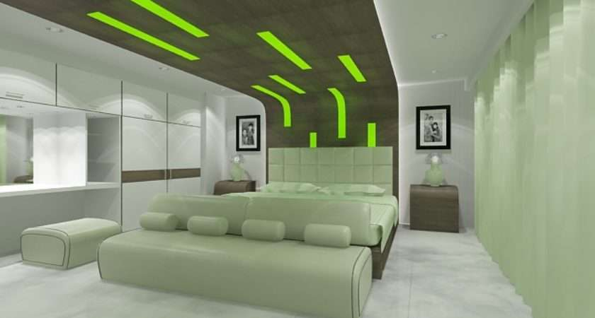 Green Color Bedrooms
