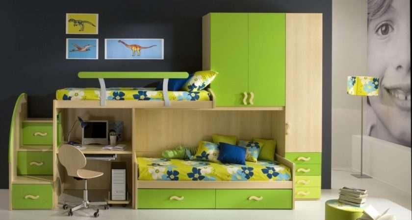 Green Colour Room Ideas Boys
