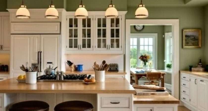 Green Kitchen Cabinets Design Photos Ideas