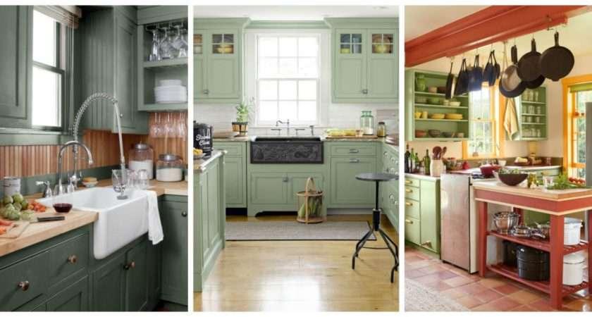 Green Kitchen Ideas Best Paint Colors Kitchens
