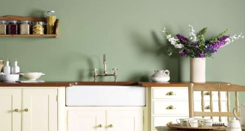 Green Kitchen Walls Sage Paint Colors