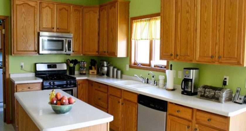 Green Kitchen Walls Wall Color