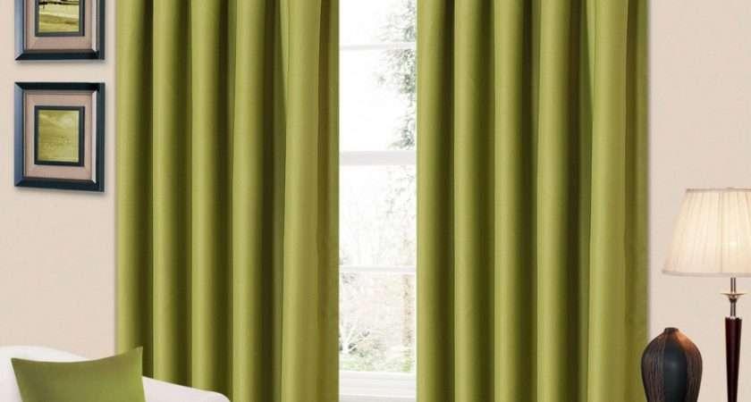 Green Living Room Curtains Impressive