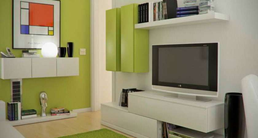 Green Living Room Decorating Ideas Small