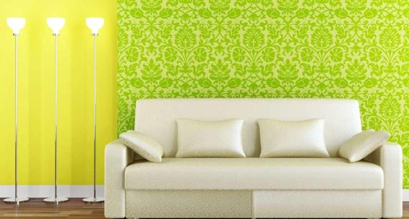 Green Living Room White Sofa Designs Decorating Dream