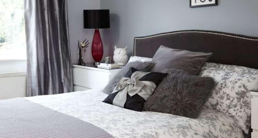 Grey Black Bedroom Decorating Housetohome