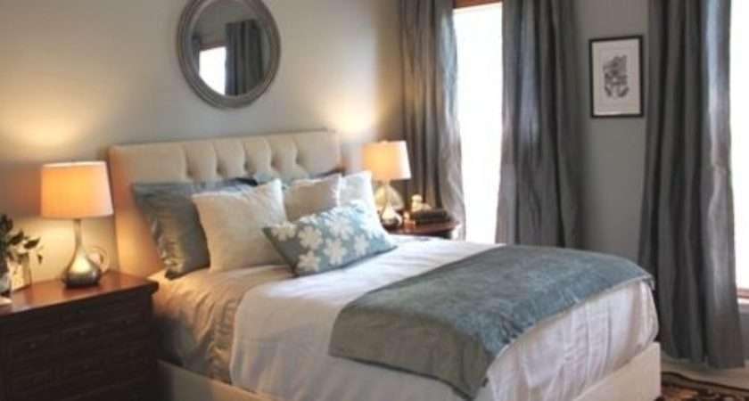 Grey Blue Bedroom Home Design Ideas Remodel