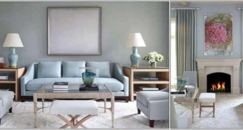 Grey Duck Egg Blue Living Room Ideas
