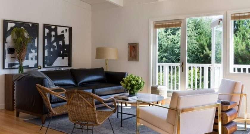 Grey Overdyed Rug Modern Living Room