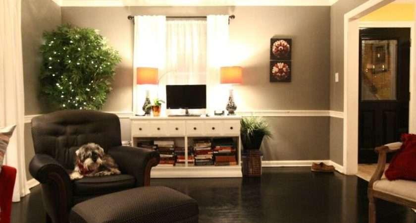 Grey Red Living Room Home Decor Pinterest