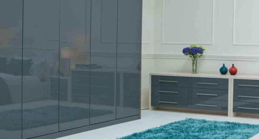 Grey Shabby Chic Bedroom Furniture Detail Design