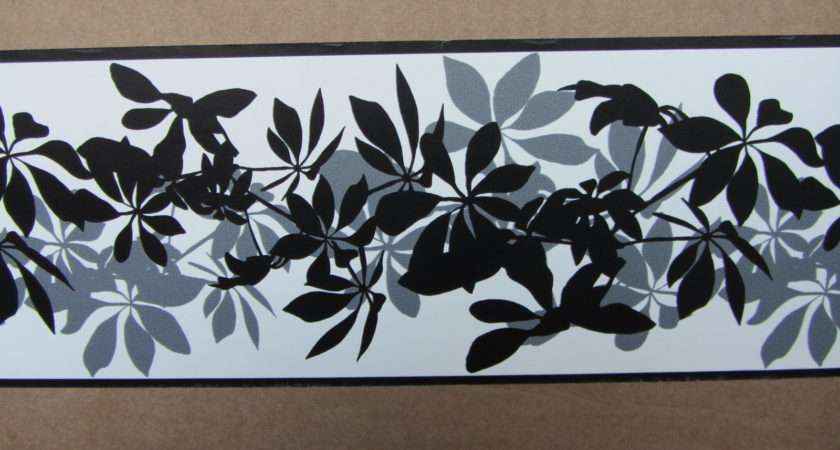 Grey Shadows Border Self Adhesive Hallway Bedroom Ebay