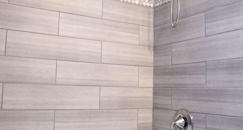 Grey Shower Tile Ideas